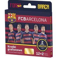 Kredki grafionowe FC BARCELONA 12+2 gratis