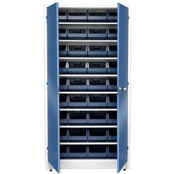 Szafa warsztatowa z pojemnikami, 36 pojemników, 1900x1000x400 mm marki Aj produkty