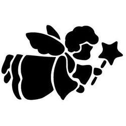 Szabloneria Szablon malarski z tworzywa, wielorazowy, wzór dla dzieci 39 - aniołek