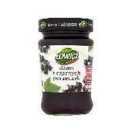 dżem z czarnych porzeczek niskosłodzony 280 g od producenta Łowicz