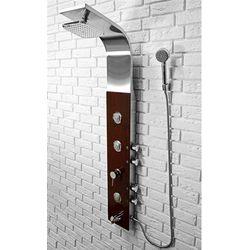 Panel prysznicowy w kolorze wenge 8859 Rea UZYSKAJ 5 % RABATU NA ZAKUP
