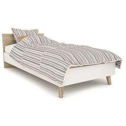 Vintage Łóżko do sypialni molde 90 w stylu skandynawskim