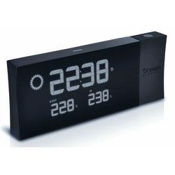 Oregon scientific zegar oregon z projektorem i prognozą pogody, czarny (4891475156073)