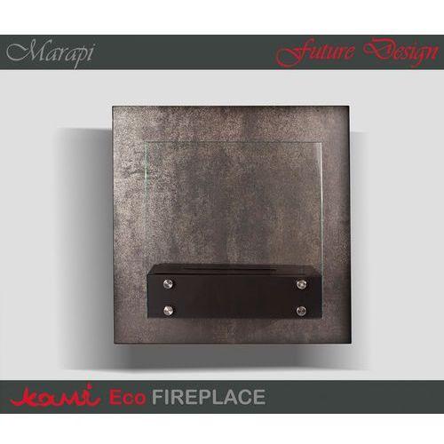 Biokominek Marapi Silver by Kami ze sklepu ExitoDesign