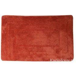 Aqualine Dywanik łazienkowy 50x80cm akryl, czerwony kp03c, kategoria: dywaniki łazienkowe
