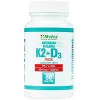 Witamina K2 MK-7 MAX + D3 200mcg/2000IU (MyVita) 60 tabl. - produkt farmaceutyczny