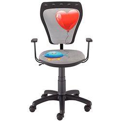 Krzesło dziecięce MINISTYLE Kurczak z sercem, Nowy Styl