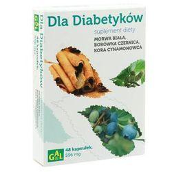 Dla Diabetyków (Morwa Biała + Borówka + Cynamon) 48 kaps. - produkt farmaceutyczny