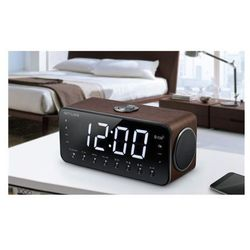 m-196dwt black, alarm function, aux in, clock radio pll with bluetooth, nfc marki Muse