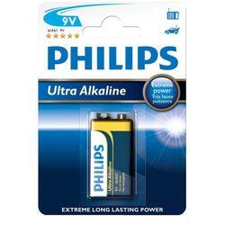 bateria alkaliczna Philips Ultra Alkaline 6LR61 9V (blister) (bateria elektryczna)