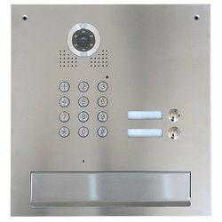 S562D-SK2 Skrzynka na listy z wideodomofonem 2-abonentowym i zamkiem szyfrowym