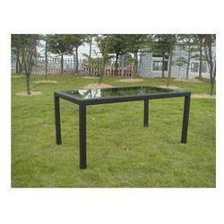 Stół Rojaplast ratan Szklany - produkt z kategorii- Stoły ogrodowe