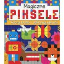 Magiczne piksele Koloruj kartki - odkrywaj obrazki - Praca zbiorowa, Clare Beaton