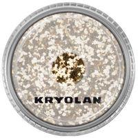 Kryolan POLYESTER GLIMMER COARSE (LIGHT GOLD) Gruby sypki brokat - LIGHT GOLD (2901)