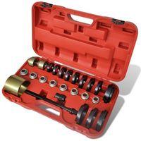 vidaXL Łożyska przednich kół, zestaw narzędzi do montażu i demontażu VW (8718475874461)