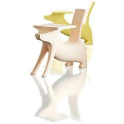 Krzesełko ze stolikiem Le Chien Savant żółte