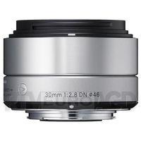 30 mm f/2,8 dn a (srebrny) - produkt w magazynie - szybka wysyłka! marki Sigma