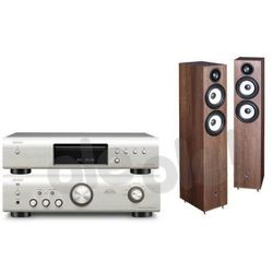 Denon  dcd-520ae + pma-520ae (czarny) + pylon audio pearl 25 (orzech), kategoria: zestawy hi-fi