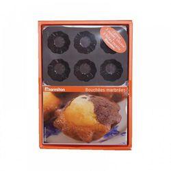 FOREMKI FORMA SILIKONOWA mini muffinki 3 x 6 szt