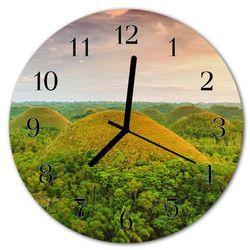 Zegar ścienny okrągły Krajobraz