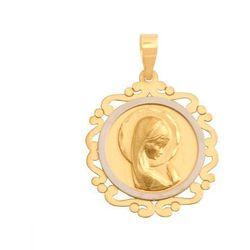 Złoty medalik - 41384 - pr.585 od producenta Rodium
