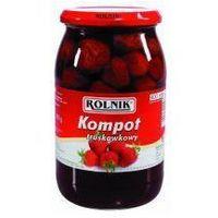 Kompot truskawkowy 900 ml Rolnik (5900919000373)