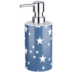 Ceramiczny dozownik do mydła STELLA BLUE, WENKO, B06XXBZHXK