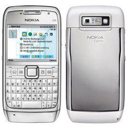 e72 biała - biały \ 2 lata na terenie całego kraju + polskie menu + bez sim locka od producenta Nokia