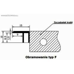 obramowanie typ F do VK15 - 20/080 Verano, aluminium naturalne