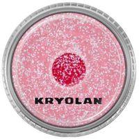 polyester glimmer medium (pastel red) średniej grubości sypki brokat - pastel red (2901) marki Kryolan