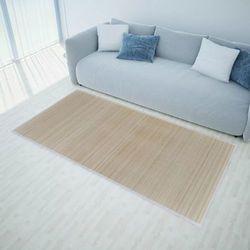 Vidaxl Naturalny, prostokątny dywan bambusowy, 80 x 200 cm