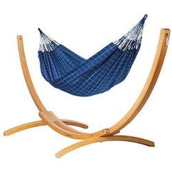 Hamak ze stojakiem drewnianym brisa iii & elipso rodzinny marki Hamaki la siesta