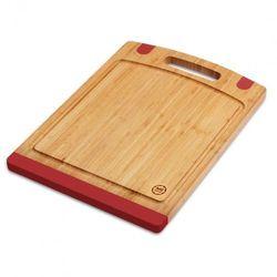 Mg home Deska do krojenia (40 x 28 cm) bambusowo-czerwony