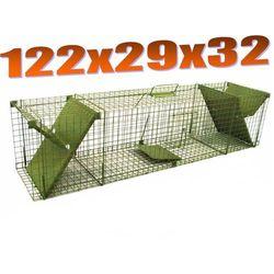 Pułapka dwuwejściowa ma kuny, lisy, koty ZLK2D oferta ze sklepu Mediasklep24