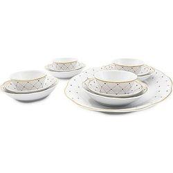 Zestaw do sushi circus z porcelany dla 4 osób 13 el. (5900043352201)