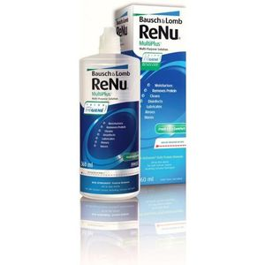 Płyn renu multiplus no rub 360 ml marki Bausch & lomb