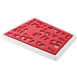Deska do krojenia pieczywa matrix malinowa marki Koziol