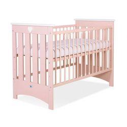 Łóżeczko dla niemowląt, lorenzo iii / łososiowe, 60x120cm, dostawa gratis! marki My sweet baby