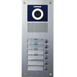 Commax Kamera 6-abonentowa z regulacją optyki i czytnikiem rfid drc-6uc/rfid