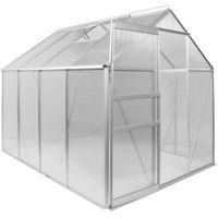 Plantasia ® Szklarnia ogrodowa aluminiowa 311x190x195cm 6mm