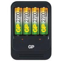 Ładowarka gp pb570 + 4 x r6 2700mah marki Gp battery