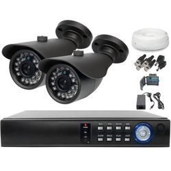 Ivel Zestaw do monitoringu 2x kamera 900tvl z ir do 20m