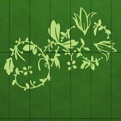 Szablon malarski kwiaty 031 marki Wally - piękno dekoracji