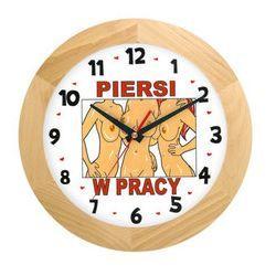 Zegar drewniany solid dla pracoholika, ATW300PP