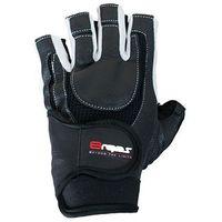 Rękawice kulturystyczne 8REPS DD-104 BeStrong męskie Biały (rozmiar XL)