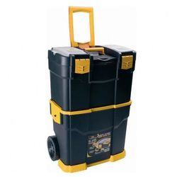 Plastikowa walizka na kółkach