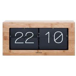 :: zegar biurkowy flip clock boxed marki Karlsson