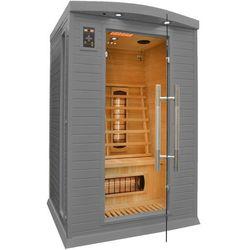 Home&garden Sauna infrared cp2 gs szara koloroterapia