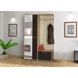 Garderoba boss pojemna szafa oraz duże lustro marki Meblotrans