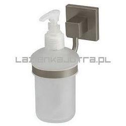 nord dozownik do mydła z uchwytem, nikiel szczotkowany 00585 marki Bisk